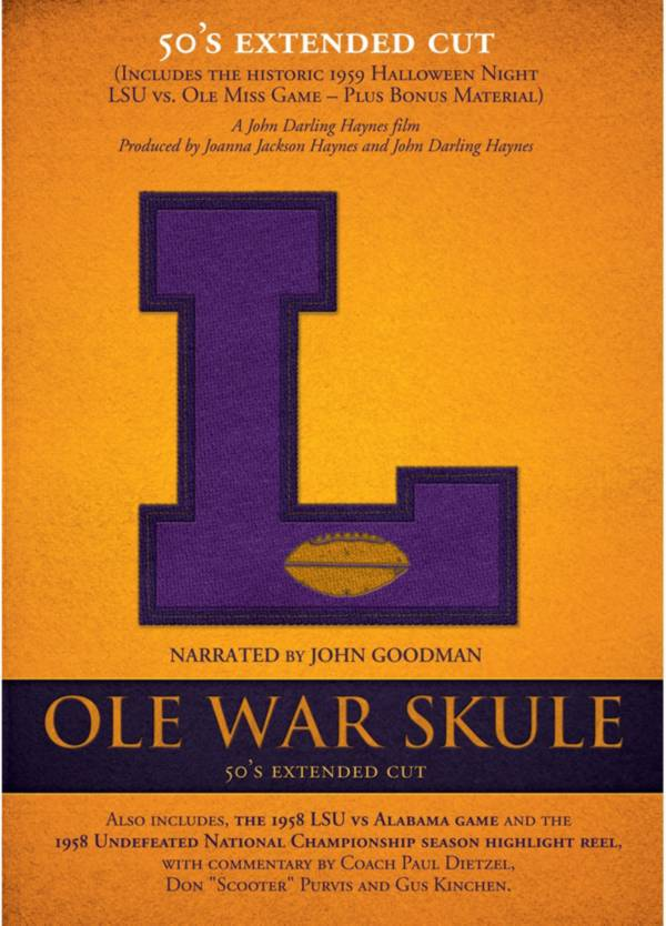 Ole War Skule: Stories of LSU Football - 1950s Director's Cut DVD product image