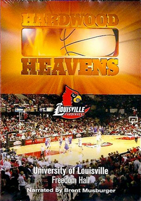 Hardwood Heavens: University of Louisville: Freedom Hall DVD product image
