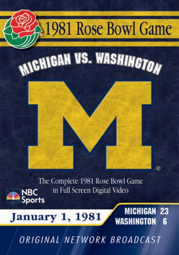 1981 Rose Bowl Game DVD product image