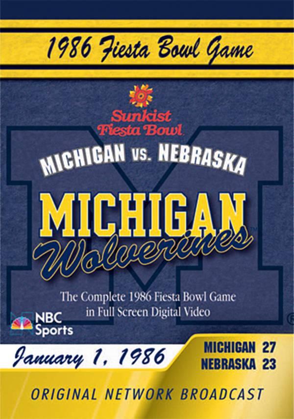 1986 Sunkist Fiesta Bowl DVD product image