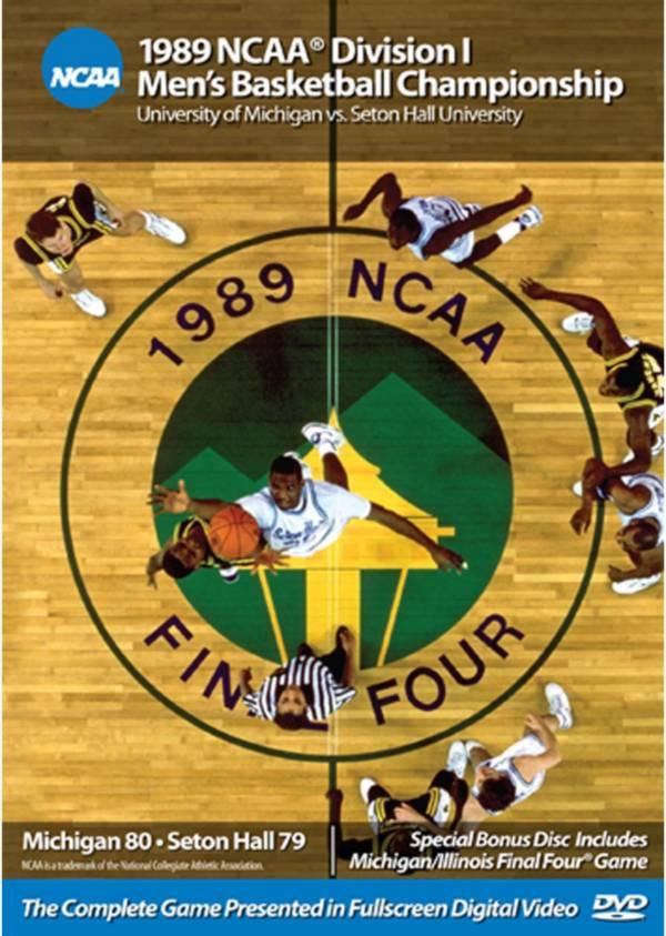 1989 NCAA Men's Basketball Championship Game - Michigan vs. Seton Hall DVD product image
