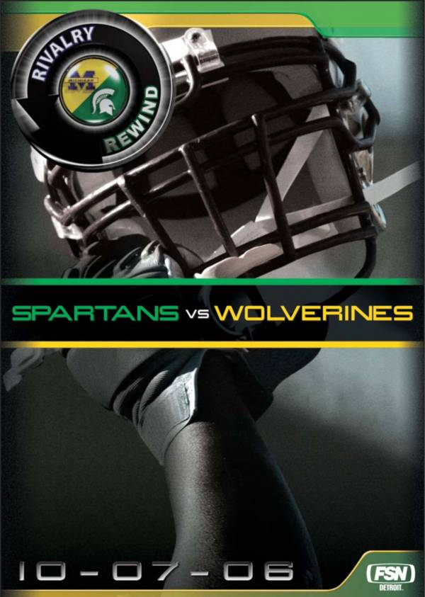 Rivalry Rewind - Wolverines vs. Spartans DVD product image