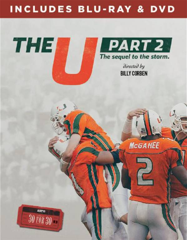 ESPN Films 30 for 30: The U, Part 2 DVD and Blu-ray Combo product image
