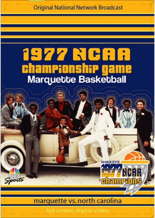 1977 NCAA Men's Basketball National Championship Game - Marquette vs. North Carolina DVD product image