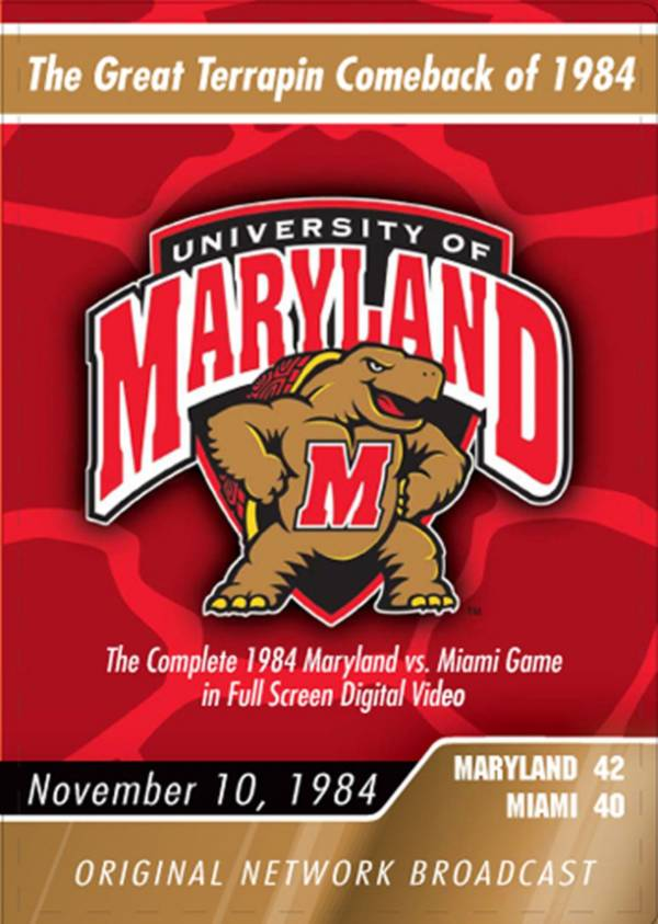 1984 Maryland vs. Miami Game DVD product image
