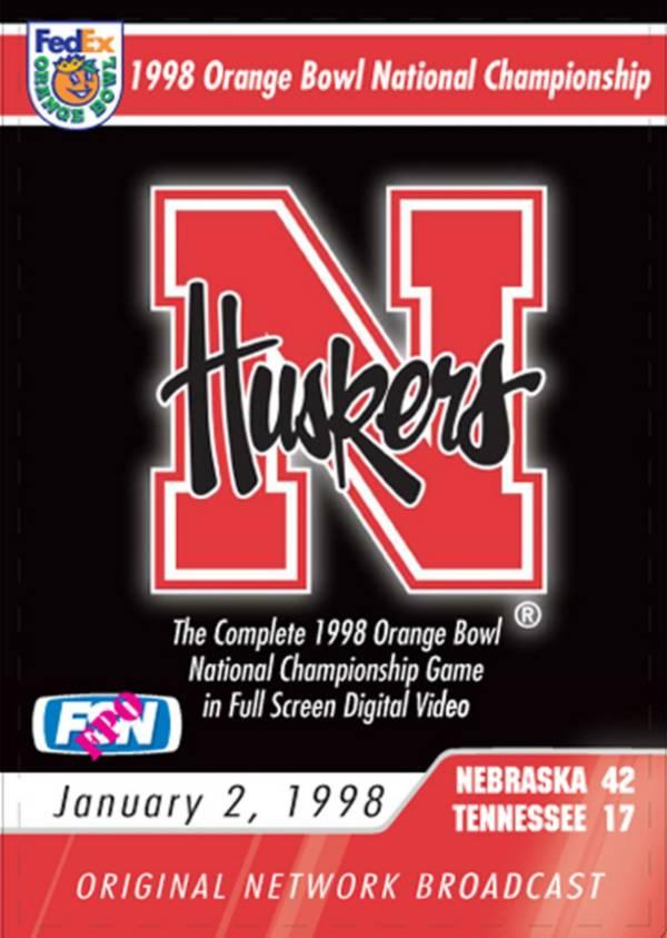 1998 FedEx Orange Bowl National Championship Game DVD product image