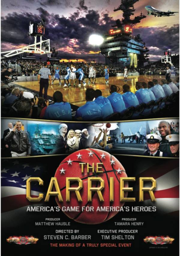 The Carrier - North Carolina vs. Michigan State DVD product image