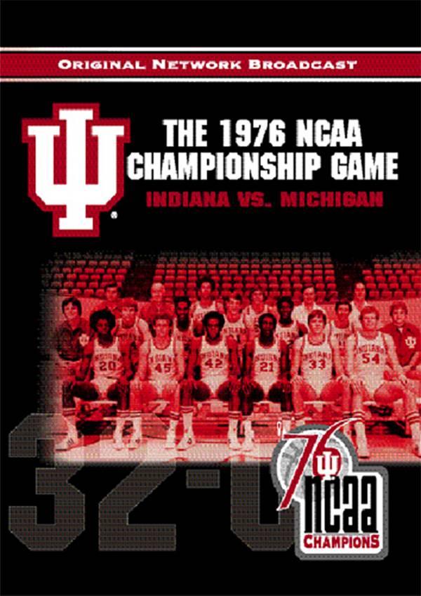 1976 NCAA Men's Basketball National Championship Game DVD product image