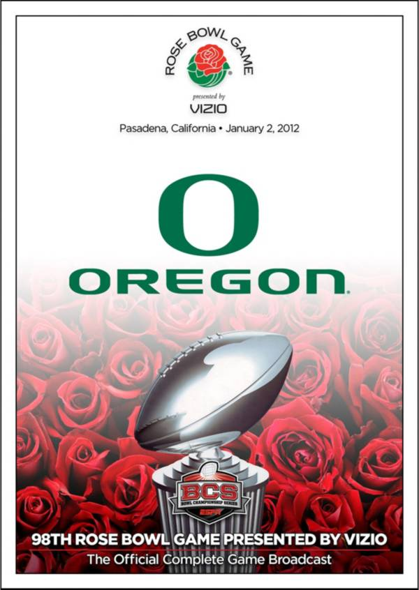 2012 Rose Bowl Game presented by VIZIO - Wisconsin vs. Oregon DVD product image