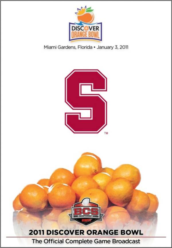 2011 Discover Orange Bowl Game - Stanford vs. Virginia Tech DVD product image