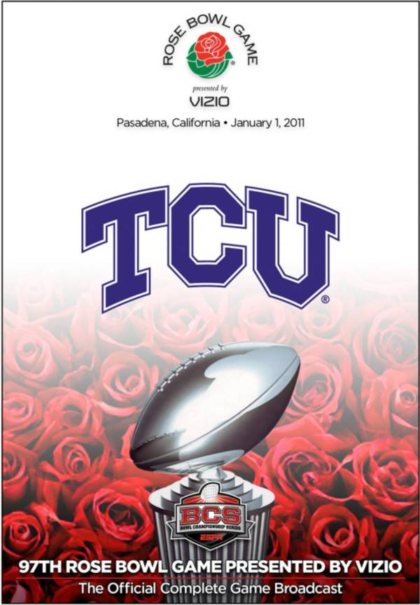 2011 Rose Bowl Game presented by VIZIO - Wisconsin vs. TCU DVD product image