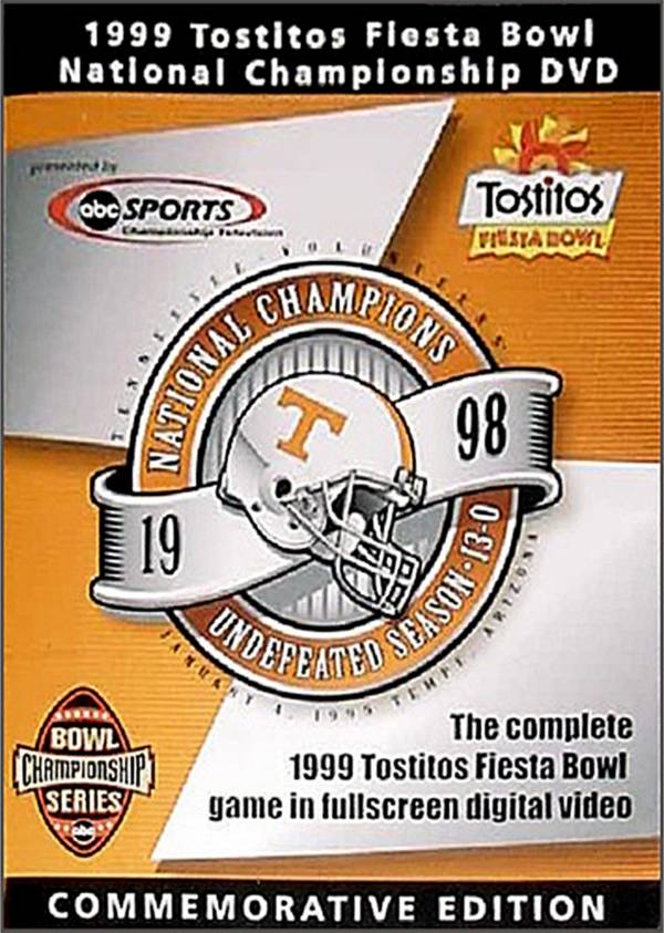 1999 Tostitos Fiesta Bowl Game: Tennessee Volunteers vs. Florida State Seminoles DVD product image
