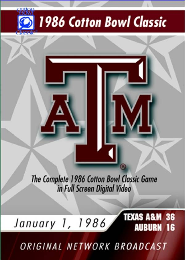 1986 Cotton Bowl Classic DVD product image