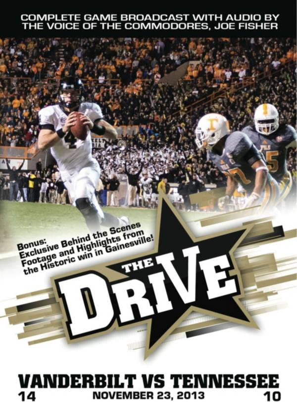 The Drive: Vanderbilt vs. Tennessee Game DVD product image