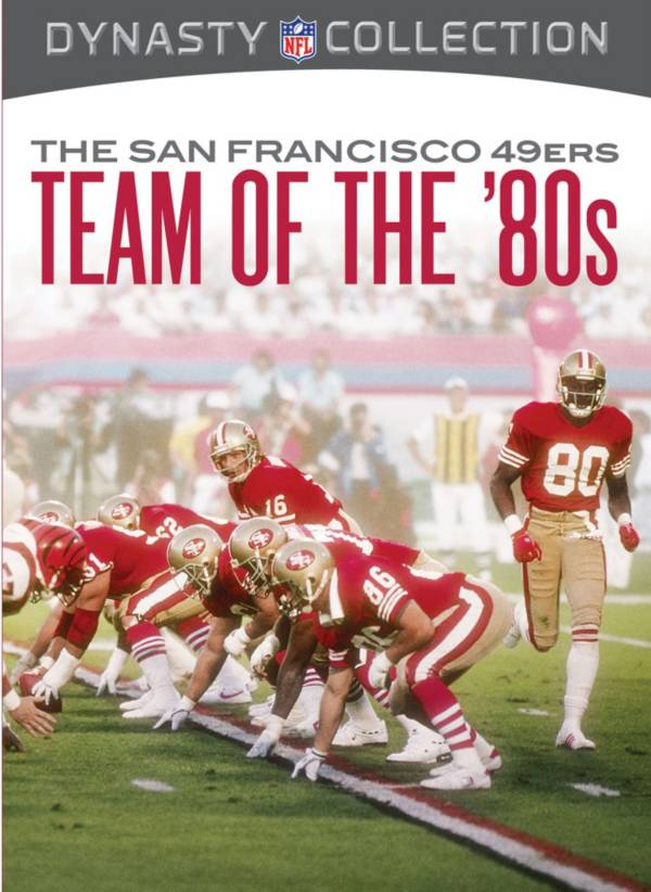 Team Marketing NFL Dynasty Collection – The San Francisco 49ers: The Team Of The 80s DVD product image