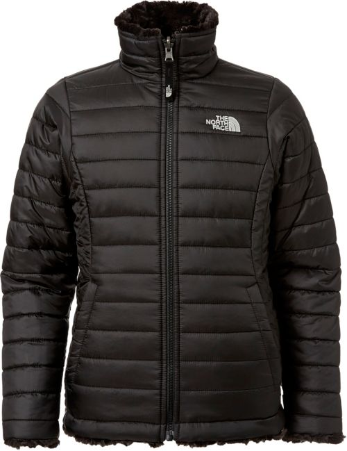59010d15b The North Face Girls' Reversible Mossbud Swirl Insulated Jacket ...
