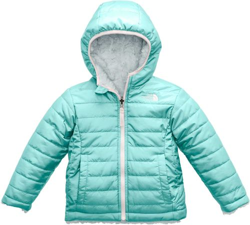 The North Face Toddler Girls  Reversible Mossbud Swirl Fleece Jacket ... 9b263232f