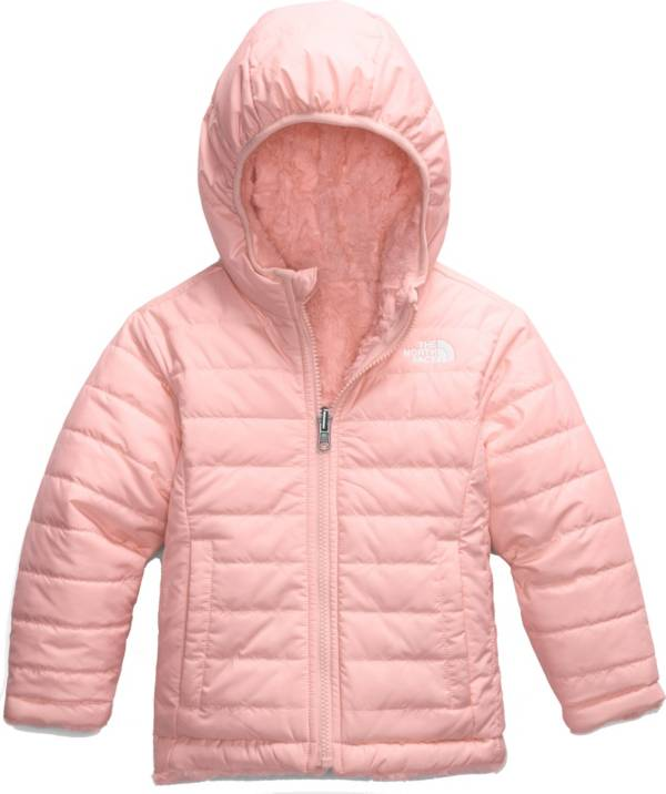 The North Face Toddler Girls' Reversible Mossbud Swirl Fleece Jacket product image