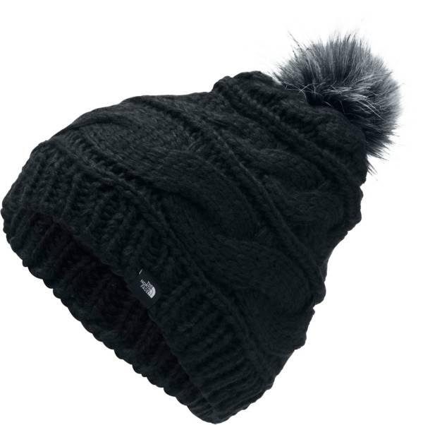 The North Face Women's Triple Cable Fur Pom Beanie product image