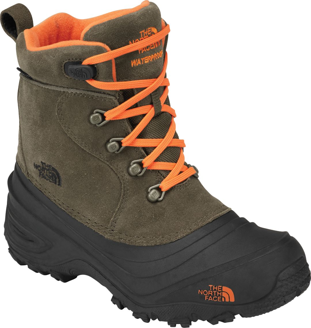 13cc869d1 The North Face Kids' Chilkat Lace II 200g Waterproof Winter Boots