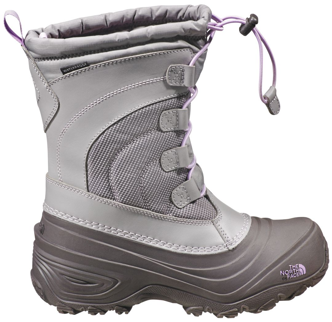7f5519546 The North Face Kids' Alpenglow IV Lace Waterproof Winter Boots