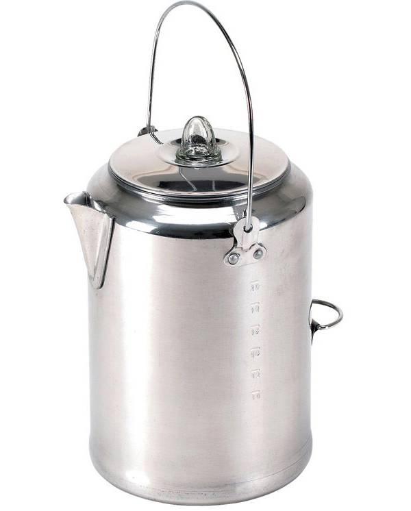 Stansport Aluminum Percolator 20-Cup Coffee Pot product image