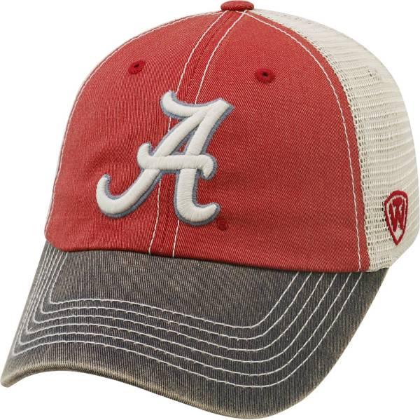 Top of the World Men's Alabama Crimson Tide Crimson/White/Black Off Road Adjustable Hat product image