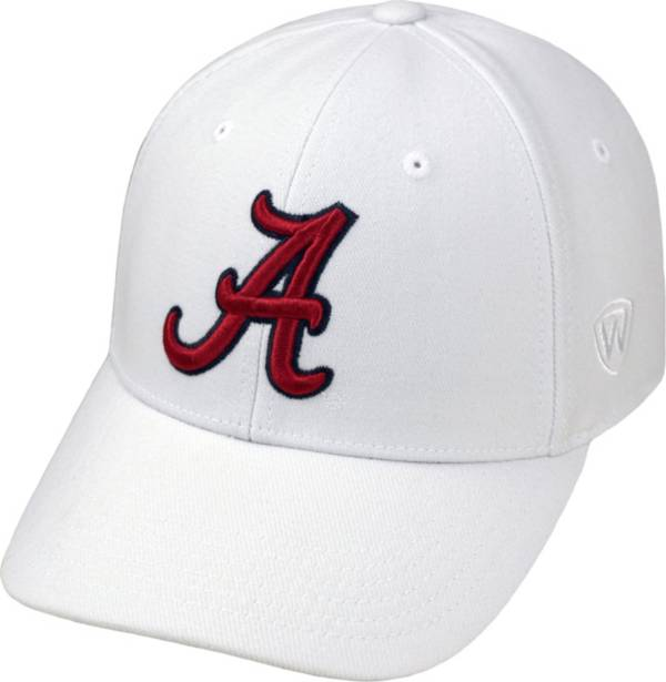 Top of the World Men's Alabama Crimson Tide White Premium Collection M-Fit Hat product image