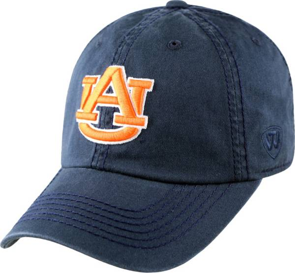Top of the World Men's Auburn Tigers Blue Crew Adjustable Hat product image