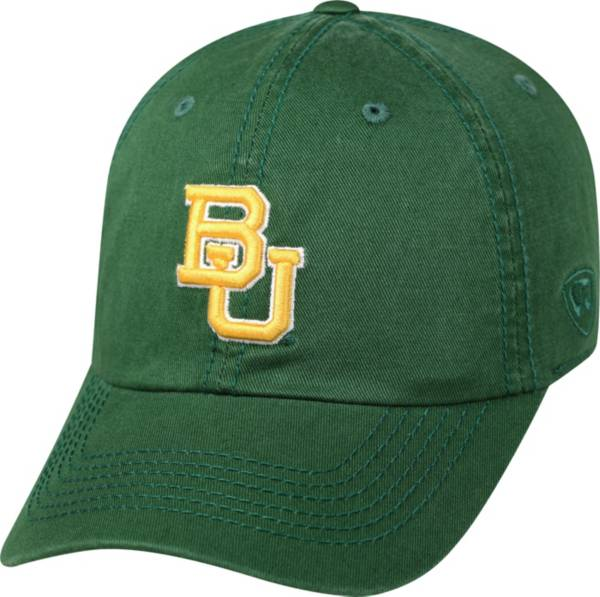 Top of the World Men's Baylor Bears Green Crew Adjustable Hat product image