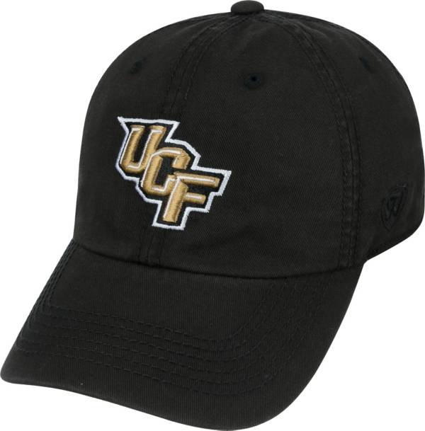 Top of the World Men's UCF Knights Black Crew Adjustable Hat product image
