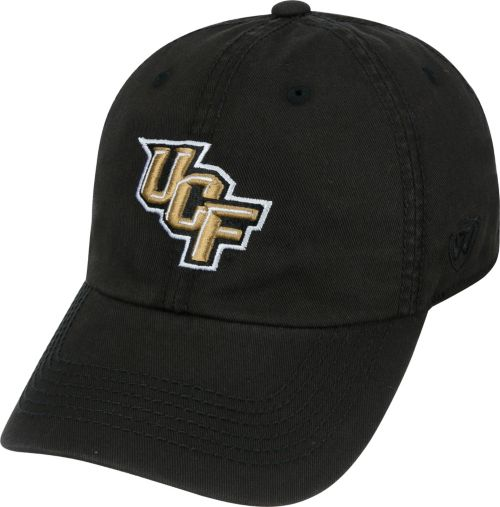 best service fbabc 5c395 Top of the World Men s UCF Knights Black Crew Adjustable Hat ...