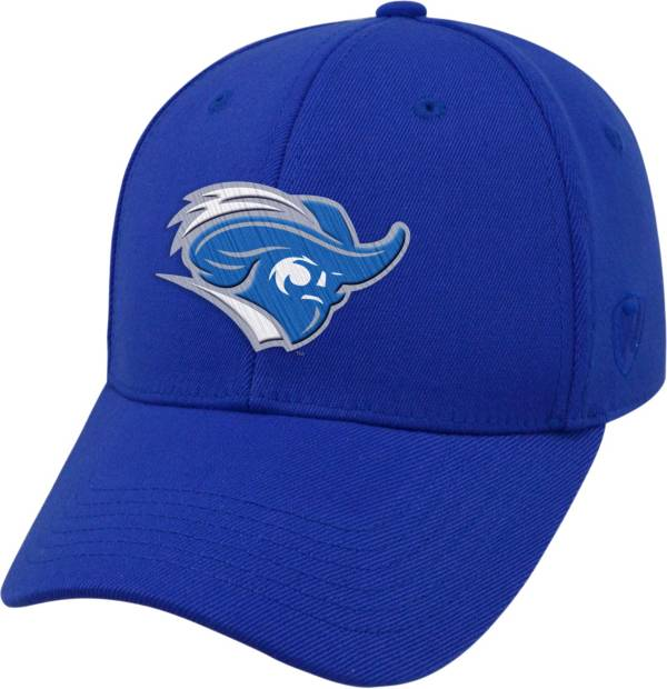Top of the World Men's Christopher Newport Captains Royal Blue Premium Collection M-Fit Hat product image