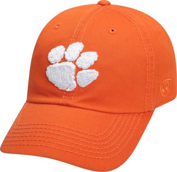 Top of the World Men's Clemson Tigers Orange Crew Adjustable Hat product image