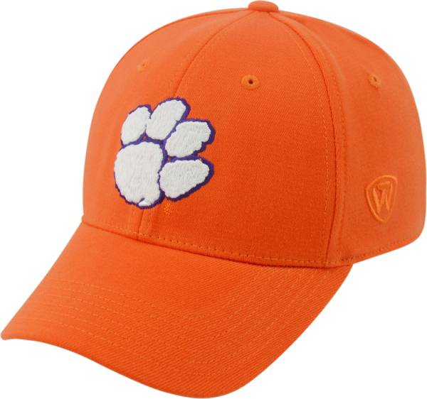 Top of the World Men's Clemson Tigers Orange Premium Collection M-Fit Hat product image