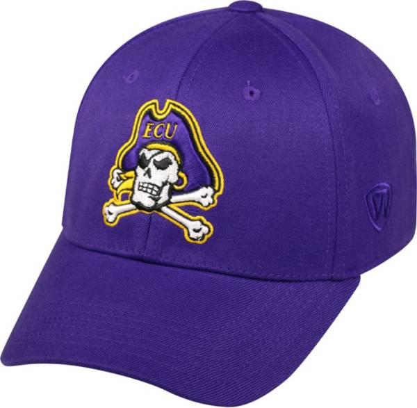 Top of the World Men's East Carolina Pirates Purple Premium Collection M-Fit Hat product image