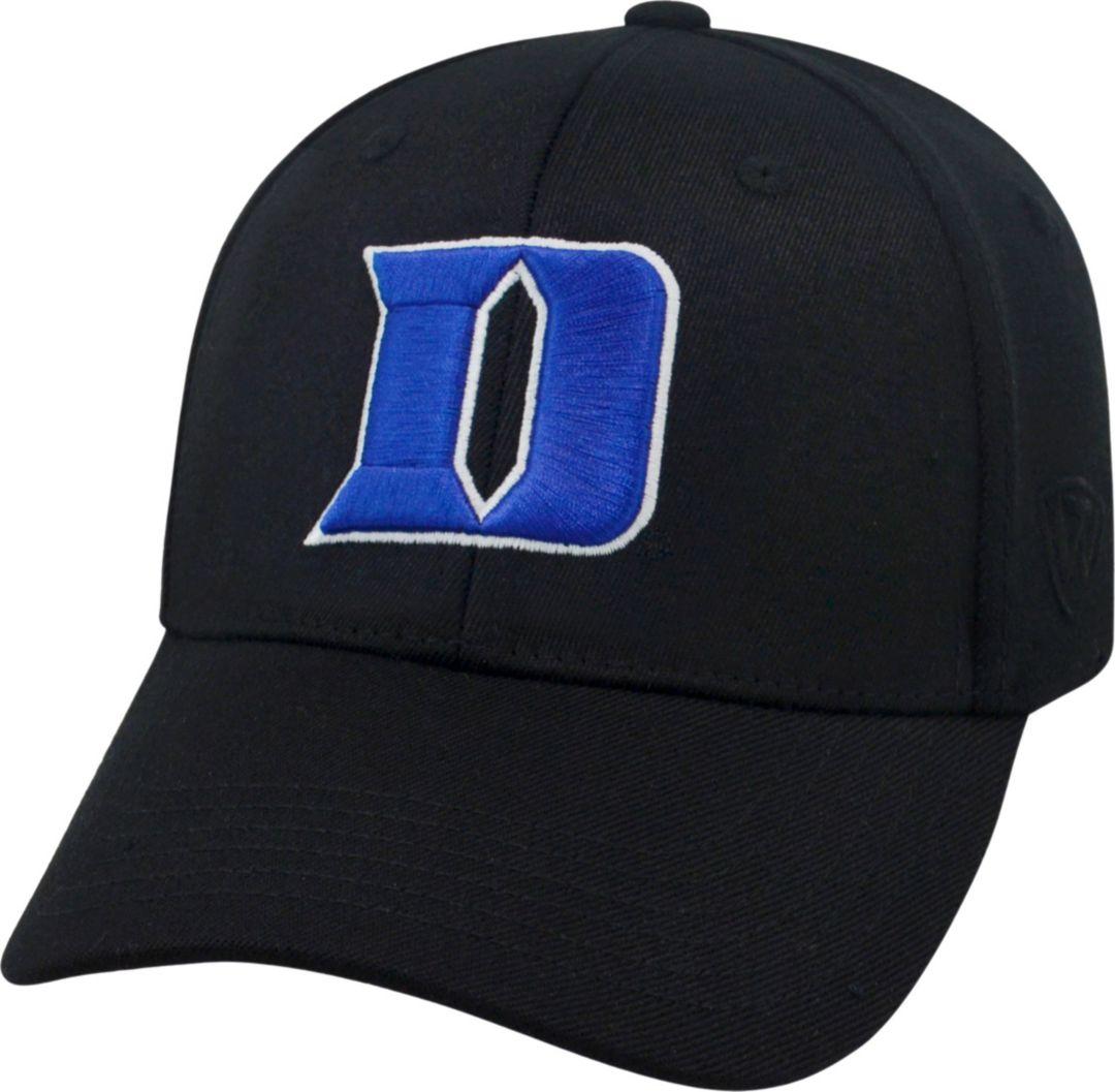 official photos 74375 aa3c9 Top of the World Men s Duke Blue Devils Black Premium Collection M-Fit Hat.  noImageFound. Previous. 1. 2