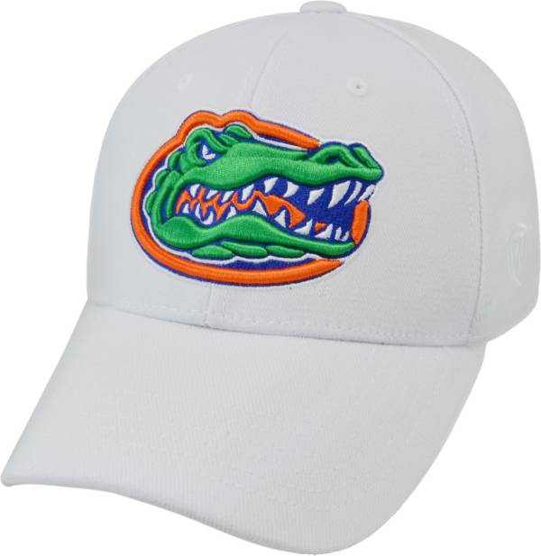 Top of the World Men's Florida Gators White Premium Collection M-Fit Hat product image