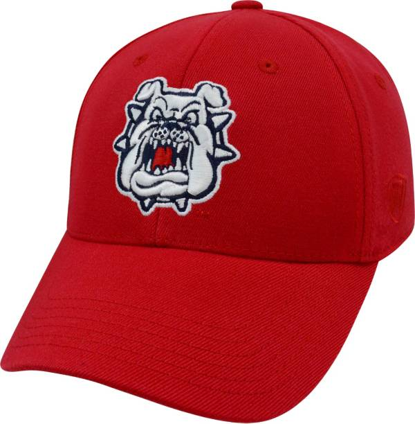 Top of the World Men's Fresno State Bulldogs Cardinal Premium Collection M-Fit Hat product image