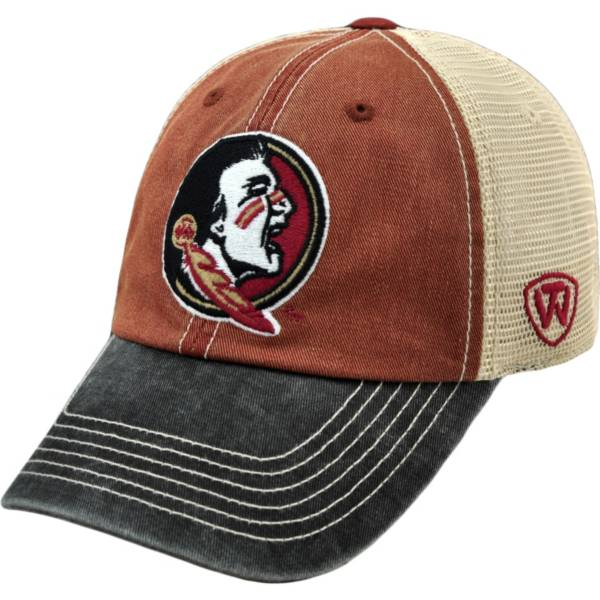 Top of the World Men's Florida State Seminoles Garnet/White/Black Off Road Adjustable Hat product image