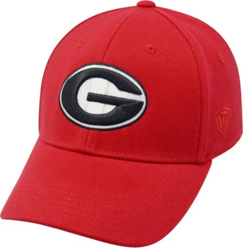 Top of the World Men s Georgia Bulldogs Red Premium Collection M-Fit Hat.  noImageFound. Previous 2048582da