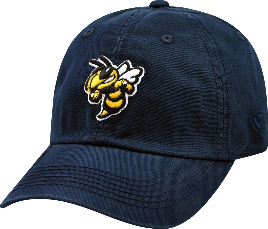 new product 722a6 b44cf Top of the World Men s Georgia Tech Yellow Jackets Navy Crew Adjustable Hat    DICK S Sporting Goods