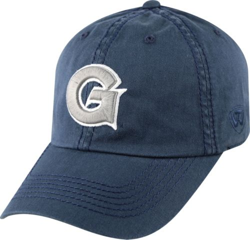check out 7ddd3 21776 ... shop top of the world mens georgetown hoyas blue crew adjustable hat  e5210 3963d