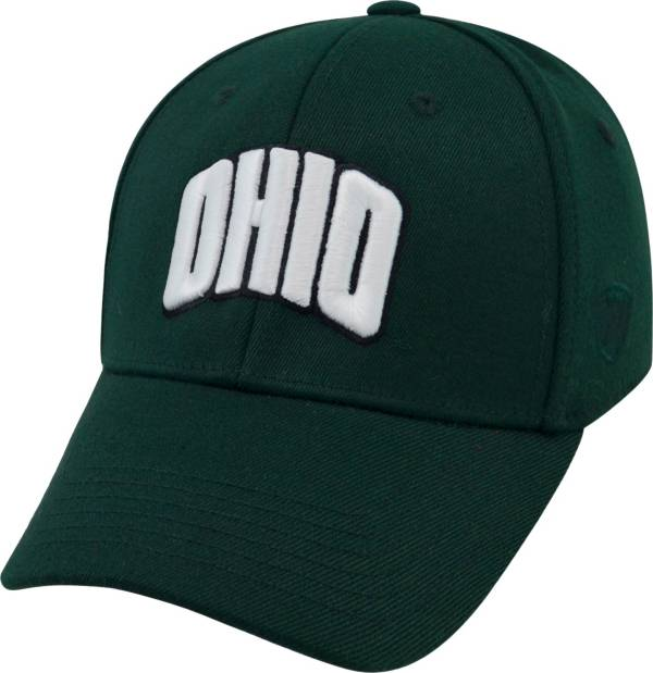Top of the World Men's Ohio Bobcats Green Premium Collection M-Fit Hat product image