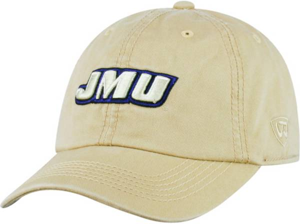 Top of the World Men's James Madison Dukes Gold Crew Adjustable Hat product image