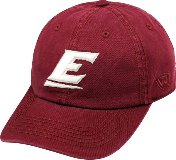 Top of the World Men's Eastern Kentucky Colonels Maroon Crew Adjustable Hat product image