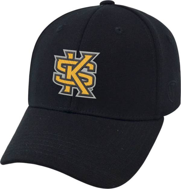 Top of the World Men's Kennesaw State Owls Black Premium Collection M-Fit Hat product image