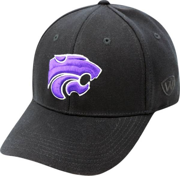 Top of the World Men's Kansas State Wildcats Black Premium Collection M-Fit Hat product image