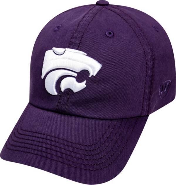 Top of the World Men's Kansas State Wildcats Purple Crew Adjustable Hat product image