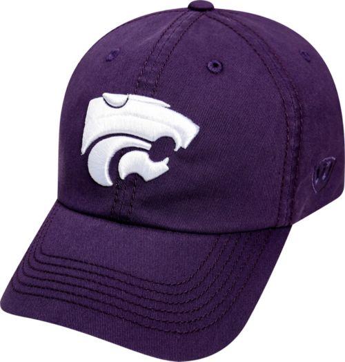 premium selection ed93d d3d5c Top of the World Men s Kansas State Wildcats Purple Crew Adjustable ...
